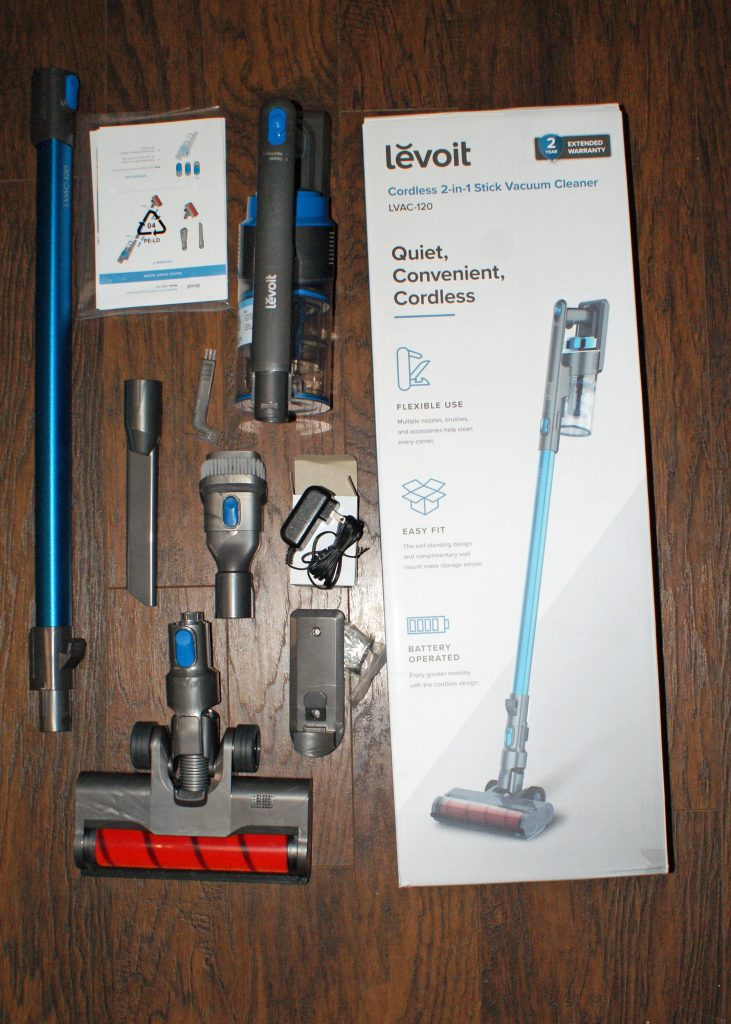 Levoit Cordless 2 in 1 Stick Vacuum Cleaner Review