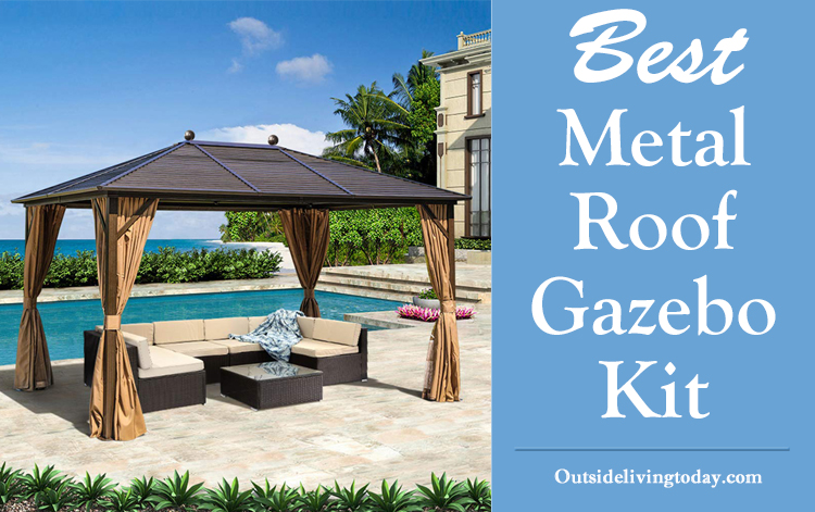 Metal Roof Gazebo Kit