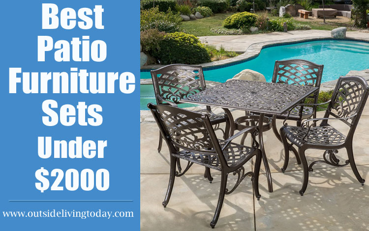 Best Patio Furniture Sets Under $2000